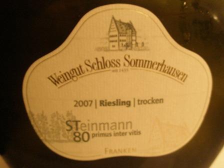 Sommerhausen Riesling