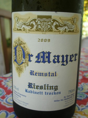 The five best Riesling wines of 2010 (6/6)
