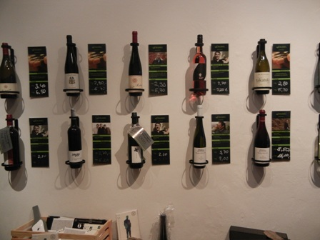 The Wine List On The Wall. U201c
