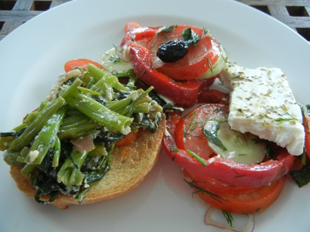 Light Greek lunch (3/5)