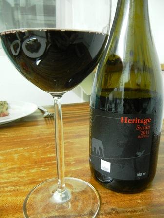 Wine from Thailand: GranMonte 2011 Heritage Syrah (1/2)